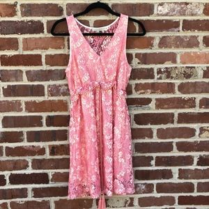 Polagram Dress From Modcloth Lace Tassels Small